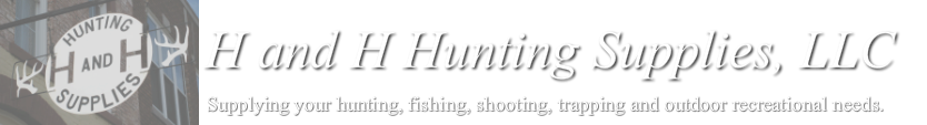 H and H Hunting Supplies